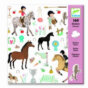 Djeco-stickers-paarden